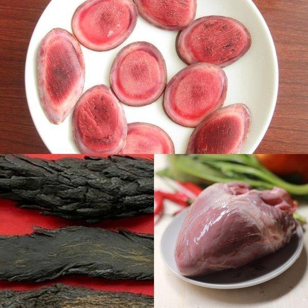 Nhung hươu hầm tim lợn là một món ăn bổ dưỡng
