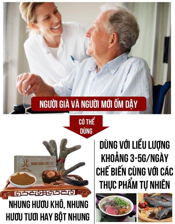 Một số cách chế biến nhung hươu cho người già hiệu quả