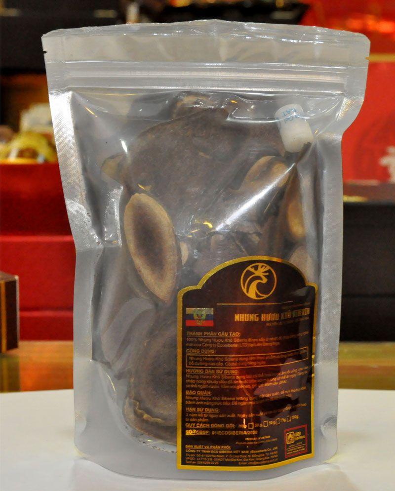 Nhung hươu sấy khô thái lát Pankal Liên Bang Nga NH004 13